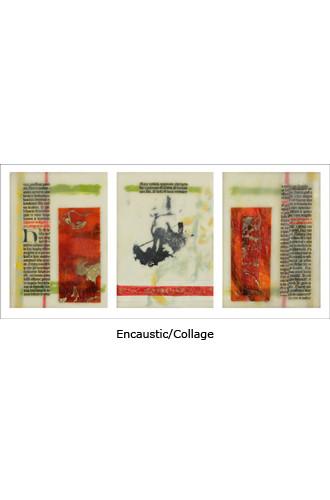Journey Triptych 7x15