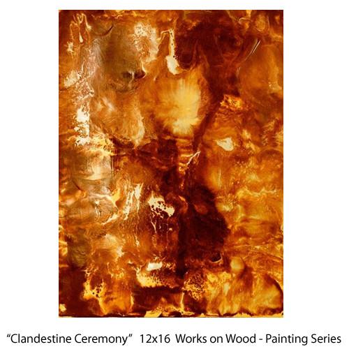 Clandestine Ceremony  16x12